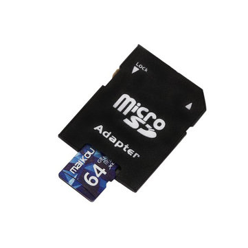 Original Maikou Class10 64G Micro SDXC Memory Card With Micro SD to SD Card Reader Set