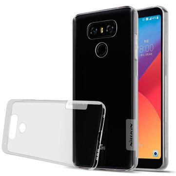 NILLKIN Clear Nature Transparent Soft TPU Protective Case For LG G6