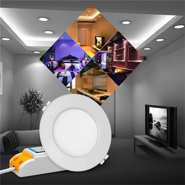 6W Milight Wireless Dimmable LED Downlight Smart RGB CCT Ceiling Lamp AC86-265V