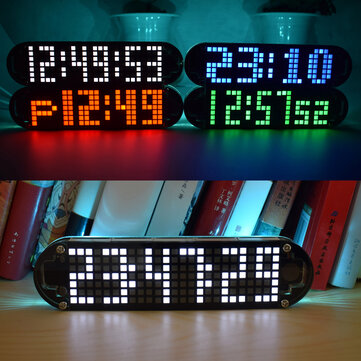 Geekcreit® DS3231 High Accuracy Multifunction LED Dot Matrix Animation Effects Clock DIY Kit
