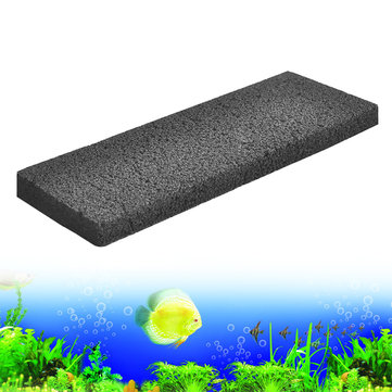 Activated Carbon Foam Sponge Filter Board Aquarium Fish Tank Pond Water Purify Media