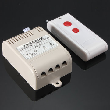 AC 220V Far Distance High Power 30A Relay RF Wireless Remote Control Switch