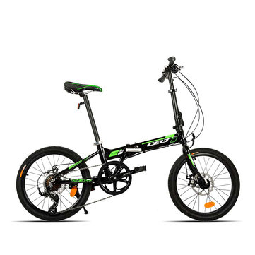20 Inch Folding Bike Bicycle Mini Foldable Bike Aluminum Alloy Frame Variable Speed