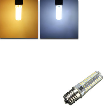 G4/G9/E11/E12/E14/E17/BA15D Dimmable LED Bulb 4W 80 SMD 4014 Corn Light Lamp AC 110V