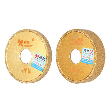Grinding Fairy Diamond Profile Grinding Wheel Straight Edge Vacuum Brazed Diamond Grinding Wheel