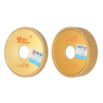 Grinding Fairy Diamond Profile Grinding Wheel Straight Edge Vacuum Brazed Diamond Grinding Wheel