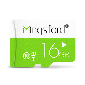 Mingsford Colorful Edition 16GB Class 10 TF Memory Card