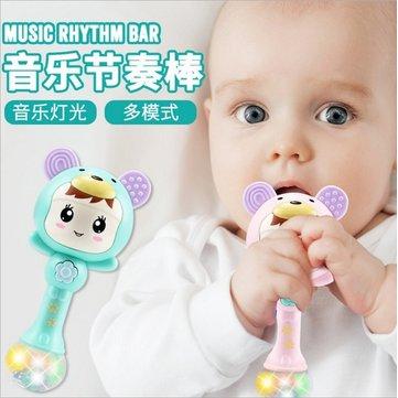 Baby Toy 0-1 Year Old Rattle Rattle Music Rhythm Bar Newborn Child Baby 3-6-12 Months Puzzle
