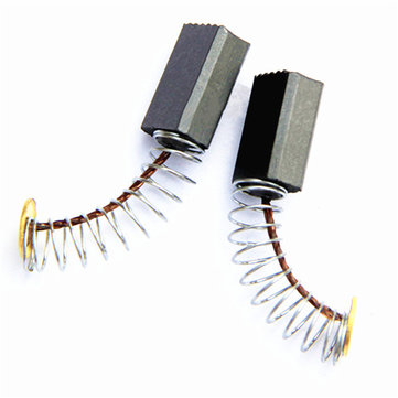 2pcs 3x7x12mm Carbon Brush Graphite Motor Generator Wheel Machine Replacement