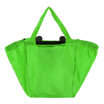 68L Outdoor Folding Shopping Bag Reusable Grocery Storage Handbag Portable Organizer Pouch