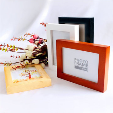 6 Inch Hanging Picture Frames Wood Photo Frame Photo Wall Home Wall Decor Pendant Type Frame