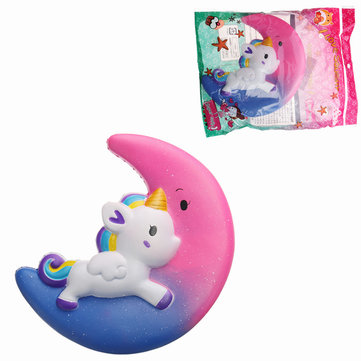 Galaxy Squishy Unicorn Moon Slow Rising With Packaging Collection Gift Decor Scented Toy