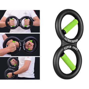 KALOAD 10KG/20KG 8 Shaped Hand Gripper Wrist Force Arm Strength Device Training Fitness Equipment