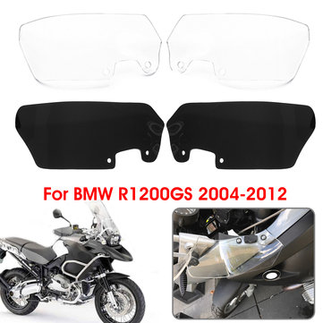 Motorcycle Wind Deflectors Scratch Resistant PMMA Set For BMW R1200GS 04-12
