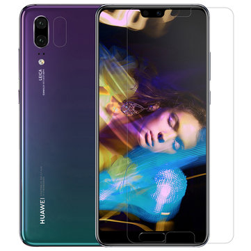 NILLKIN HD Ultra Thin Anti-fingerprint Screen Protector with Lens Protective Film for Huawei P20