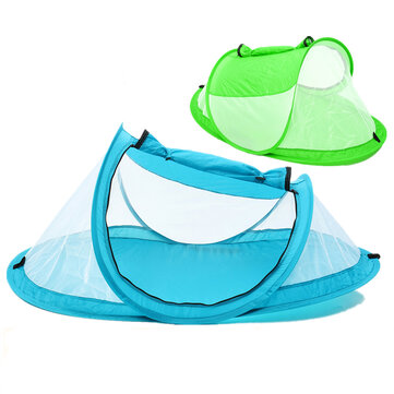 Portable Pop Up Beach Tent Canopy Sunshade Shelter Anti-UV Baby Travel Anti-mosquito Net Bed