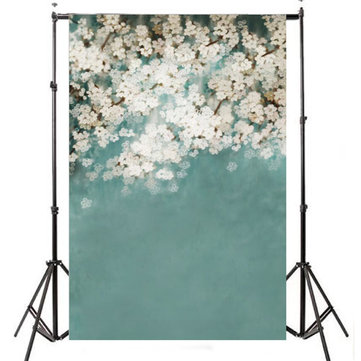 1x1.5m 3x5ft Indoor Flower Photography Backdrop photo For Studio Photography Background