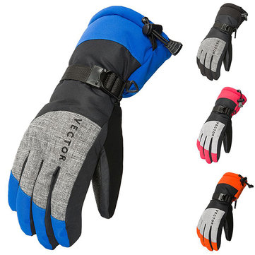 Mens Winter Warm Riding Sport Waterproof Ski Gloves