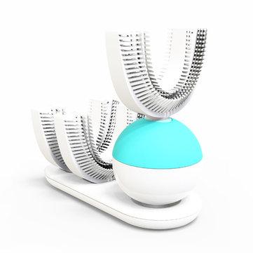แปรงสีฟันไฟฟ้าอัตโนมัติAmabrushแปรงสีฟันใน10sUSBชาร์จแบบไร้สายได้ชาร์จใหม่ได้