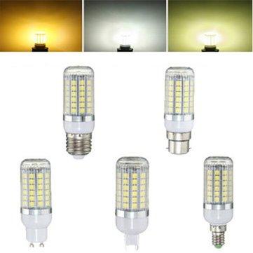 E27 E14 B22 G9 GU10 6 วัตต์ 69 SMD 5050 LED 450 ลิตร Pure White Warm White หลอดไฟนีออนสีขาวธรรมชาติ AC220V