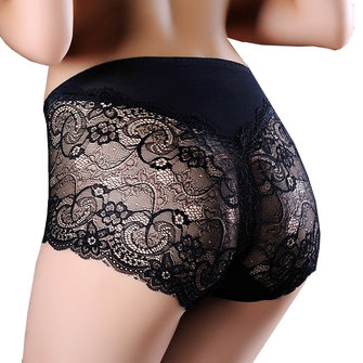 Sexy Lace Perspective Hollow Out Underwear