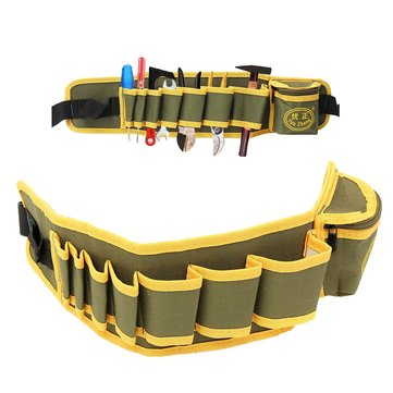 Electrician Tool Pouch Bag Belt Waist Pocket Screwdriver Utility Tool Holder