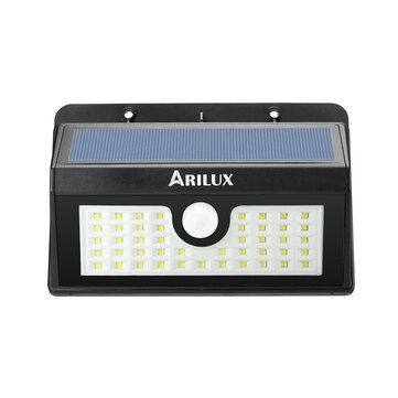 ARILUX® AL-SL 07 Wireless Solar Powered 45 LED Waterproof PIR Motion Sensor Outdoor Wall Light