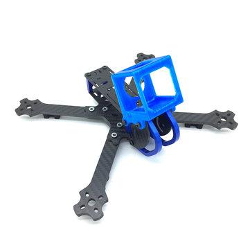 Cobra X5 X5D 5 Inch 227mm 4mm Arm 3K Carbon Fiber Racing Frame Kit w/ Camera Mount for Gopro Session