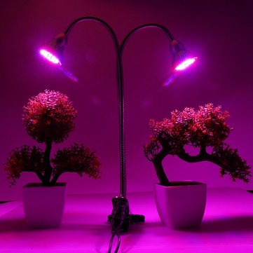 60W LED Grow Light Indoor Garden Hydroponic Plant Desk Flexible Clip Clamp Lamp