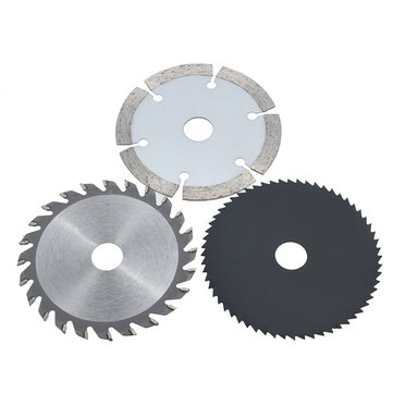 3pcs 85mm Circular Saw Blades Set HSS/TCT Wood Working Rotary Tool Cutting Discs Kit