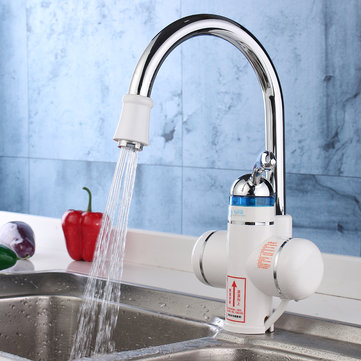 220V Electric Faucet Instant Water Heater Tankless Tap
