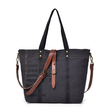 Casual Canvas Handbag Denim Style Travel Vintage Crossbody B