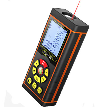 VCHON High Precision 40M/60M/80M/100M Laser Range Finder Distance Meter Tape Measure Rangefinder
