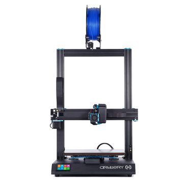 Artillery(Evnovo)® Sidewinder X1 3D Printer Kit with 300*300*400mm Large Print Size Support Resume Printing&Filament Runout Detection With Dual Z axis/TFT Touch Screen
