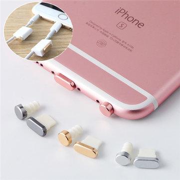 Porta di ricarica per porte di ricarica + spina a spina per cuffie auricolari per iPhone 6/6s iPhone 6s Plus iPhone 7/7 Plus