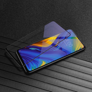 Baseus 0.23mm 3D Anti-explosion Anti Blue Ray Light Soft Full Curved Edge Tempered Glass Screen Protector For Xiaomi Mi MIX 3