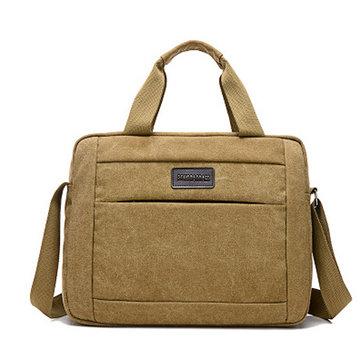 Мужчины Холст сумка большой емкости Многоцветный сумка Открытый мешок плеча