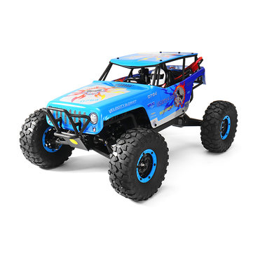 Wltoys 10428A 1/10 2.4G 4WD 30KM/h Racing RC Car 540 Brushed Motor Rock Climbing Truck Toys