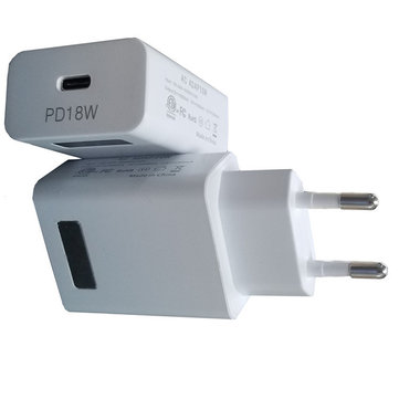 Bakeey Type-C PD Fast USB Charger Travel Wall Quick Charger For iPhone X 8 for SAMSUNG S9+ Note 9