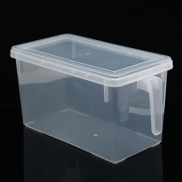 4.7L Kitchen Food Storage Box Sealed Crisper Refrigerator Organizer Container Preservation