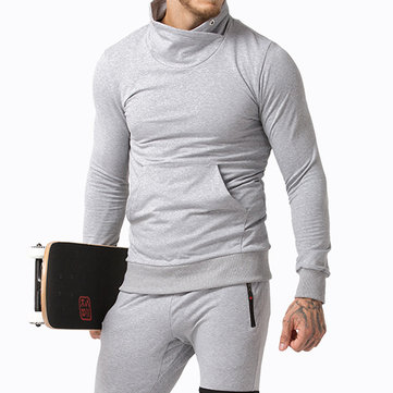 Outdoor Sports Reflective Stripe Men's Athletic Pullover