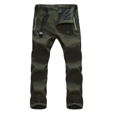 Mens Camo Casual Outdoor Pants
