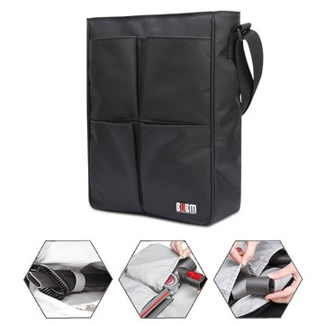 BUBM XCQ-XT Tool Storage Bag for Dyson Vacuum Attachment Shoulder Bag Large Capacity Waterproof Nylon Brush Attachment Organizer