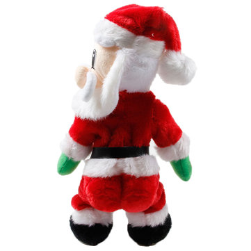 Christmas Decorations Electric Twisted Hip Singing Santa Claus Toys For Kids Children Gift