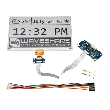 Waveshare® 7.5 Inch E-ink Screen Module e-Paper Display SPI Interface For Arduino Raspberry Pi