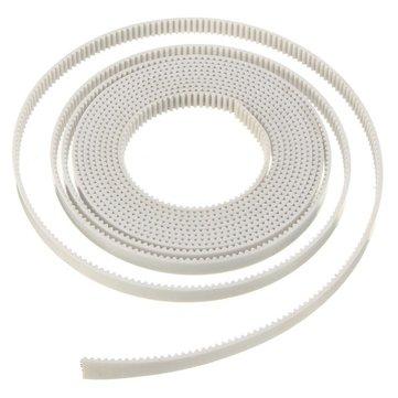 2M GT2 2GT Width 6mm White Open Timing Belt For 3D Printer