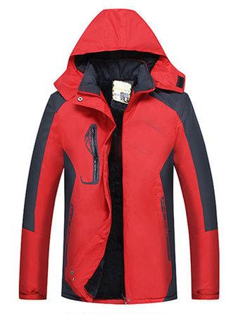 Women Outdoor Waterproof Windproof Thick Warm Mountaineering Jackets