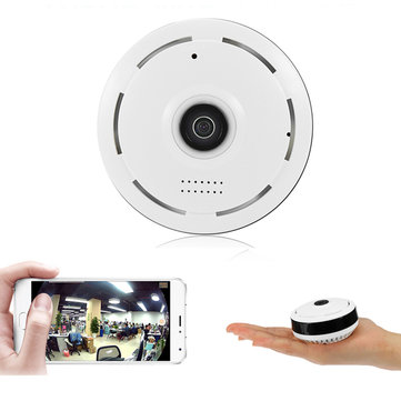 360° Panoramic 960P WiFi Fisheye IP Camera Security Webcam Night Vision