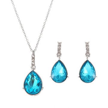 JASSY® Luxury 12 Months Birthstone Jewelry Sets Zircon Color
