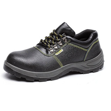New Men Low Top Protective Safety Mountaineering Solid Abrasion Resistance Sport Military Shoes